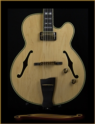 Ibanez PM200 Pat Metheny Signature Archtop in Natural at The Guitar Sanctuary McKinney Texas