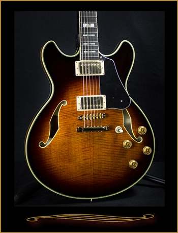 Ibanez JSM100 John Scofield Signature Model Semi-Hollow Guitar at The Guitar Sanctuary McKinney Texas