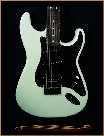 Charvel Jake E Lee Signature Model in Pearl White