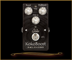 Suhr KokoBoost Reloaded 2 Stage Boost Pedal at The Guitar Sanctuary McKinney Texas