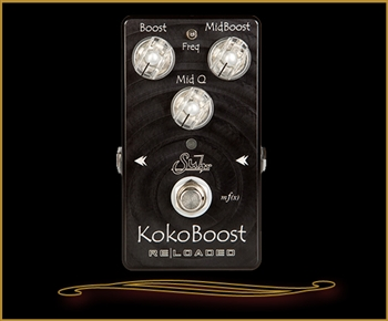 Suhr KokoBoost Reloaded 2 Stage Boost Pedal
