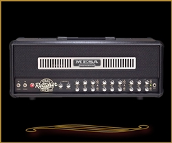 Mesa Boogie Dual Rectifier Head in Black Vinyl with Black Jute Grille at The Guitar Sanctuary McKinney Texas