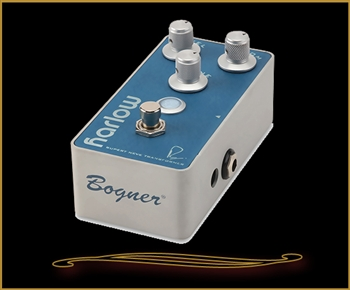 Bogner Amplification Harlow Boost Pedal with Bloom Compression at The Guitar Sanctuary McKinney Texas