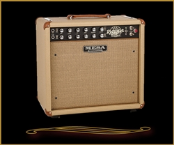 Mesa Boogie Recto-Verb 25 1x12 Combo in British Tan Bronco with Cream and Tan Jute Grille at The Guitar Sanctuary Mesa Boogie North Dallas Showroom McKinney Texas
