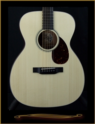 Collings OM1 with German Spruce Top and Spanish Cedar Back and Sides at The Guitar Sanctuary McKinney Texas