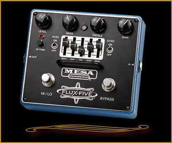Mesa Boogie  FLUX-FIVE - Dual-Mode Overdrive+ with Assignable 5-Band Graphic EQ at The Guitar Sanctuary McKinney Texas