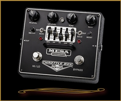 Mesa Boogie THROTTLE BOX EQ- Dual-Mode Distortion Pedal with Assignable 5-Band Graphic EQ at The Guitar Sanctuary McKinney Texas