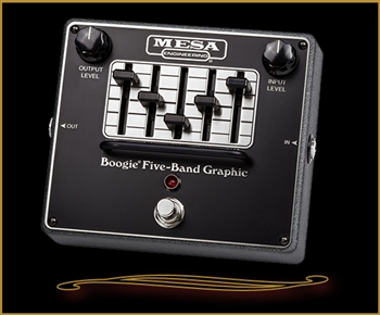 "Mesa Boogie GRAPHIC EQ Pedal- Legendary ""Boogie"" 5-Band Graphic EQ in a Pedal at The Guitar Sanctuary McKinney Texas"