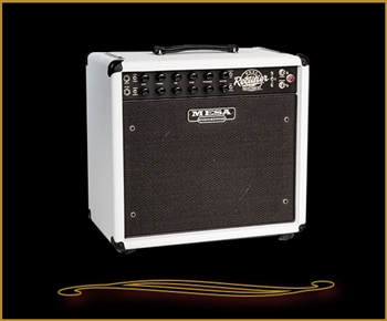 Mesa Boogie Recto-Verb 25 1x12 Hot White Bronco Combo at The Guitar Sanctuary Mesa Boogie North Dallas Showroom McKinney Texas