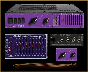 Rivera RockCrusher Recording Power Attenuator, Load Box and Speaker Emulator