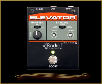 Radial Tonebone Elevator Multi-Level Booster Pedal