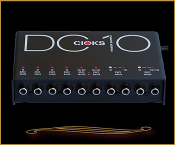 Cioks DC10 Pedalboard Power Supply at The Guitar Sanctuary McKinney Texas