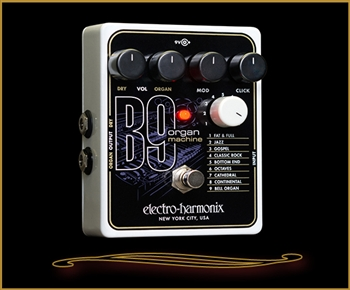 Electro-Harmonix B9 Organ Machine Pedal at The Guitar Sanctuary McKinney Texas