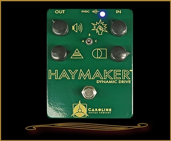 Caroline Guitar Company Haymaker Overdrive at The Guitar Sanctuary McKinney Texas