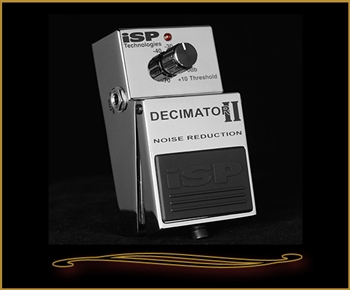 ISP Decimator II Noise Reduction Pedal at The Guitar Sanctuary McKinney Texas