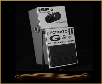 ISP Decimator II G String Noise Reduction Pedal at The Guitar Sanctuary McKinney Texas
