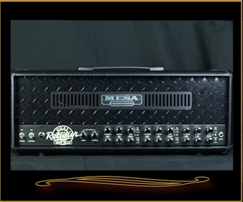 Mesa Boogie Dual Rectifier Head in Black Vinyl with Black Diamondplate Front Panel at The Guitar Sanctuary McKinney Texas