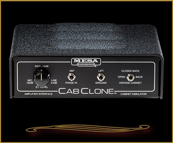 Mesa Boogie CabClone Cabinet Simulator and Load Box 4 Ohm at The Guitar Sanctuary McKinney Texas