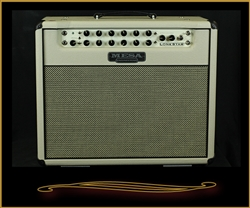 Custom Mesa Boogie Lone Star 1x12 Combo in Cream with Cream and Black Grille and Black Piping at The Guitar Sanctuary McKinney Texas