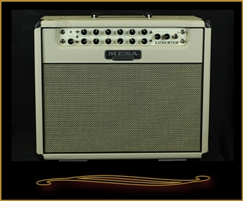 Custom Mesa Boogie Lone Star 1x12 Combo in Cream with Cream and Black Grille and Black Piping