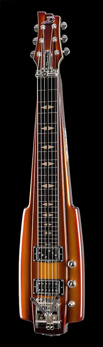 Duesenberg Fairytale Lap Steel in Gold Burst at The Guitar Sanctuary McKinney Texas