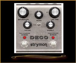 Strymon Deco Tape Saturation and Doubletracker Pedal at The Guitar Sanctuary McKinney Texas