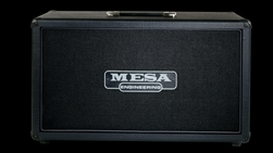 Mesa Boogie Road King 2x12 Cabinet Black Taurus at The Mesa Boogie North Dallas Showroom at The Guitar Sanctuary McKinney Texas