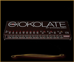 Cioks Ciokolate Pedalboard Power Supply at The Guitar Sanctuary McKinney Texas