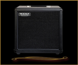Mesa Boogie 1x12 Rectifier Cabinet in Black at Mesa Boogie North Dallas The Guitar Sanctuary McKinney Texas