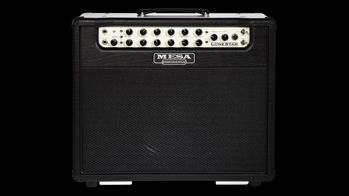 Custom Mesa Boogie Lone Star 1x12 Combo in Black with Black Jute Grille at The Guitar Sanctuary McKinney Texas