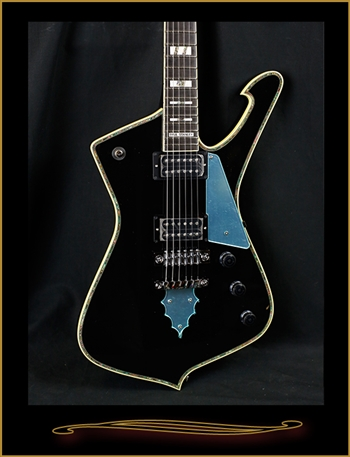 Ibanez Paul Stanley Signature Iceman PS10 in Black at The Guitar Sanctuary McKinney Texas