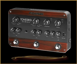 Fishman ToneDEQ Preamp, EQ, and Direct Box for Acoustic Guitar