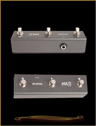 Strymon MultiSwitch Extended control footswitch for TimeLine, BigSky, and Mobius