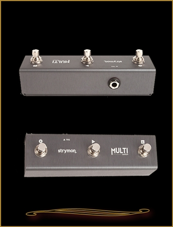 Strymon MultiSwitch Extended control footswitch for TimeLine, BigSky, and Mobius at The Guitar Sanctuary McKinney Texas