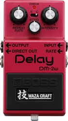 Boss Waza Craft DM-2W Analog Delay Pedal