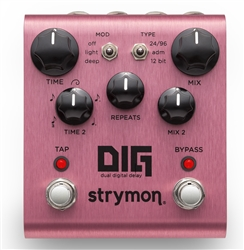Strymon DIG Dual Digital Delay Pedal at The Guitar Sanctuary McKinney Texas