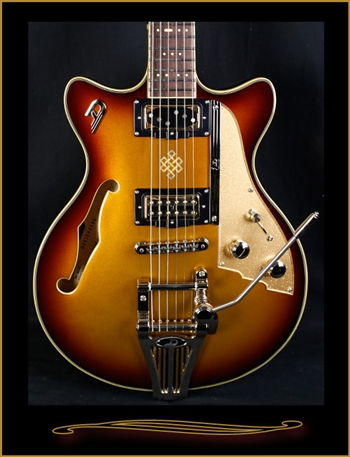 Duesenberg Joe Walsh Signature in Goldburst