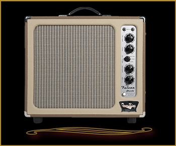 Tone King Falcon Grande in Brown and Cream at The Guitar Sanctuary McKinney Texas