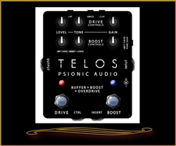 Psionic Audio Telos Overdrive Pedal
