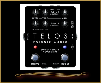 Psionic Audio Telos Overdrive Pedal at The Guitar Sanctuary McKinney Texas