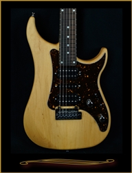 Vigier Excalibur Shawn Lane Signature Model in Natural Alder Matte at The Guitar Sanctuary