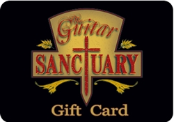 Guitar Sanctuary $250 Gift Card at The Guitar Sanctuary McKinney Texas