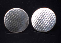 Industrial Round Cufflinks