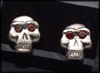 Monkey Skull Earrings