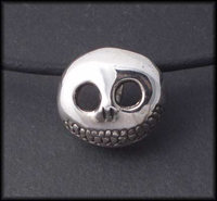 Jack O'Pumpkin Pendant (with Onyx)