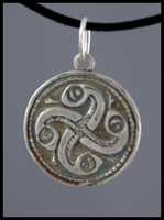 Norse Snake Pendant