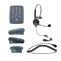 Single ear headset dial pad phone for call center | HD voice without noise