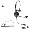 Call Center Headset with 2.5mm Quick Disconnect Cord