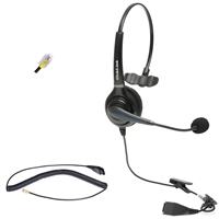 Avaya Lucent Callmaster Phone Console Single-Ear Headset