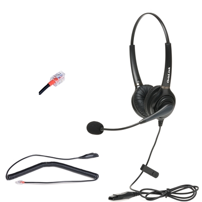Avaya 1600 9600 IP Deskphone Dual-Ear Headset